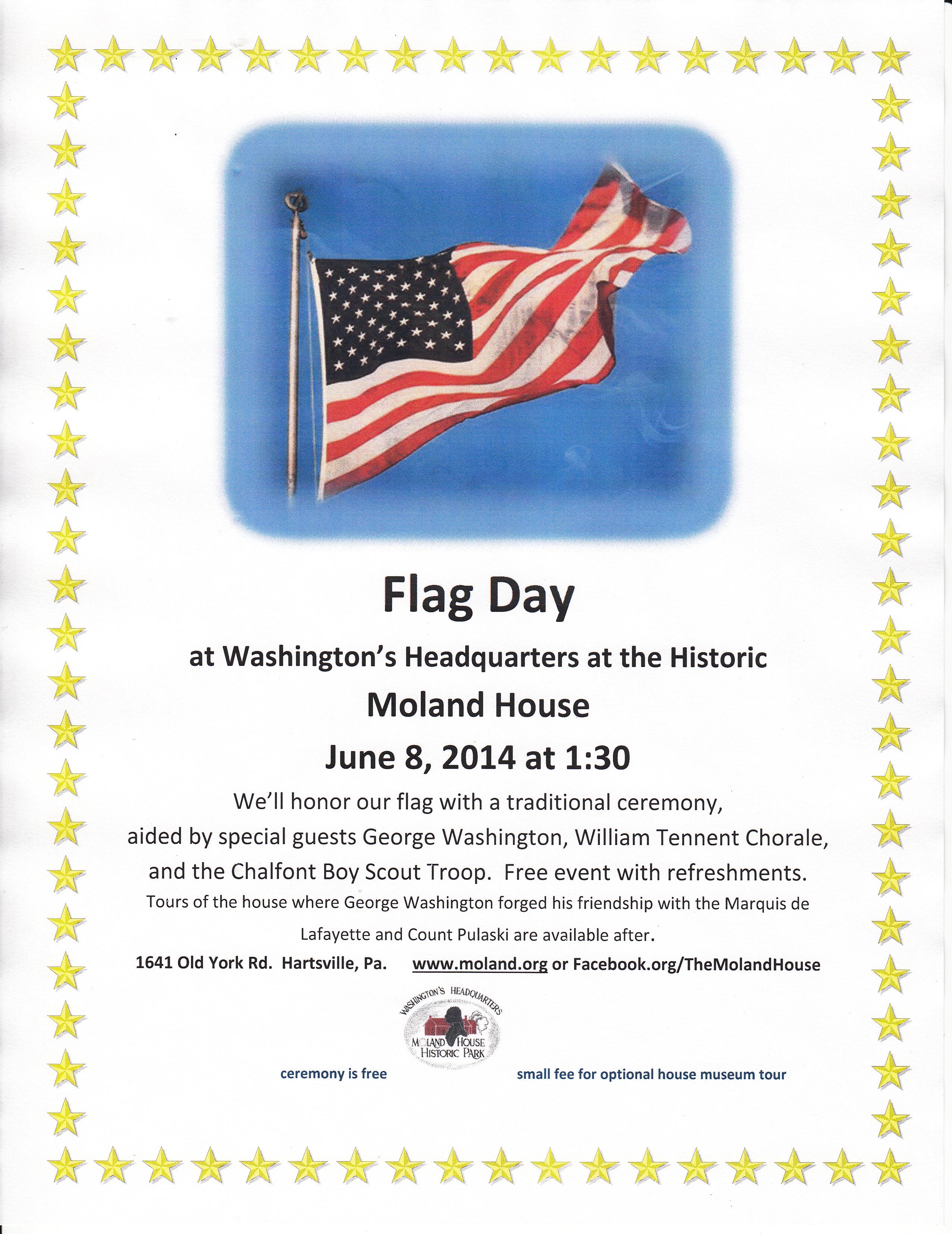 Flag Day poster  2014
